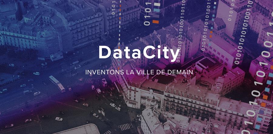 Créé par Numa et la Ville de Paris en 2015, DataCity est le premier programme français d'open innovation qui propose à des grands groupes français (comme Suez), des start-up et des collectivités locales de relever ensemble les défis de la ville de demain.