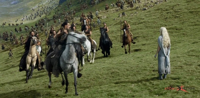 Goalem simule les foules, Game Of Thrones,