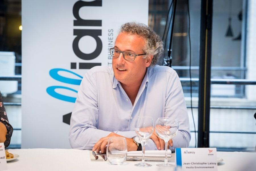 Jean-Christophe Laissy, DSI groupe, Veolia