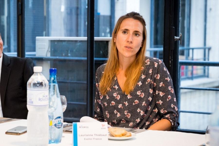 Laurianne Thiébaut DSI Essilor