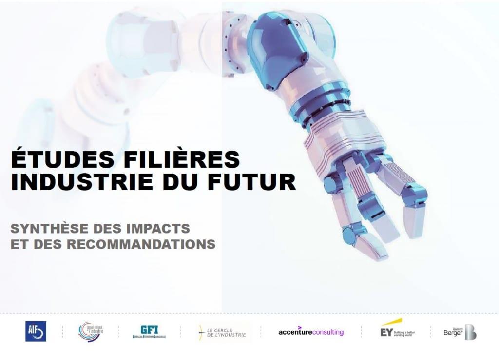etude des filières , industrie du futur