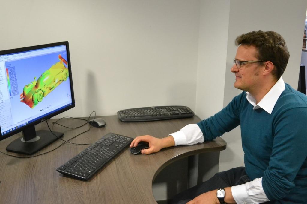 Le service CFD de Jean-Philippe Pelaprat a été créé en 2009. ©Célia Garcia-Montero