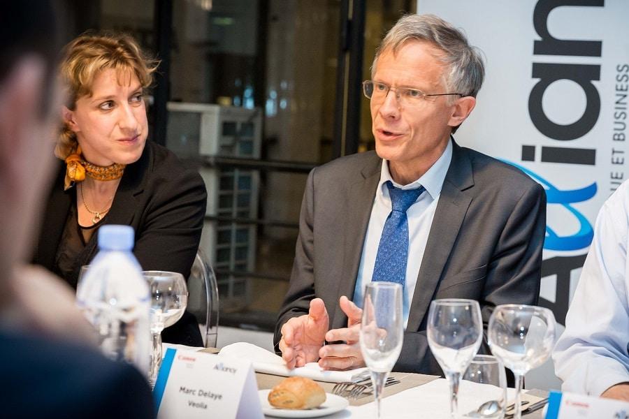 Marc Delaye, Directeur Stratégie et Marketing - Veolia