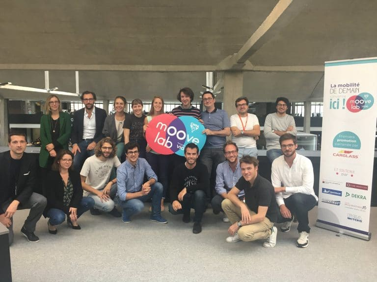 Le 1er septembre dernier, le Moove Lab a présenté les premières 7 start-up qu'il accueille dans son incubateur, doté de 40 espaces de travail au sein de Station F.