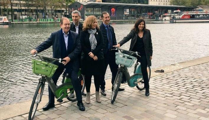 Le nouveau Vélib' Métropole