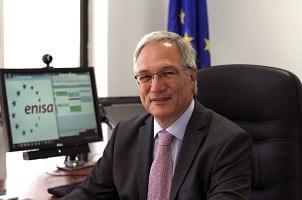 Udo Helmbrecht, directeur exécutif de l'Enisa, milite depuis des années pour que le budget de l'agence soit augmenté. ©Enisa