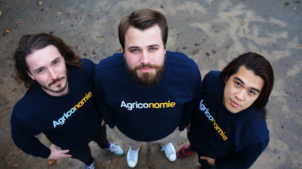 Les fondateurs d'Agriconomie viennent de lancer une gamme de produits sur l'agriculture biologique. ©DR