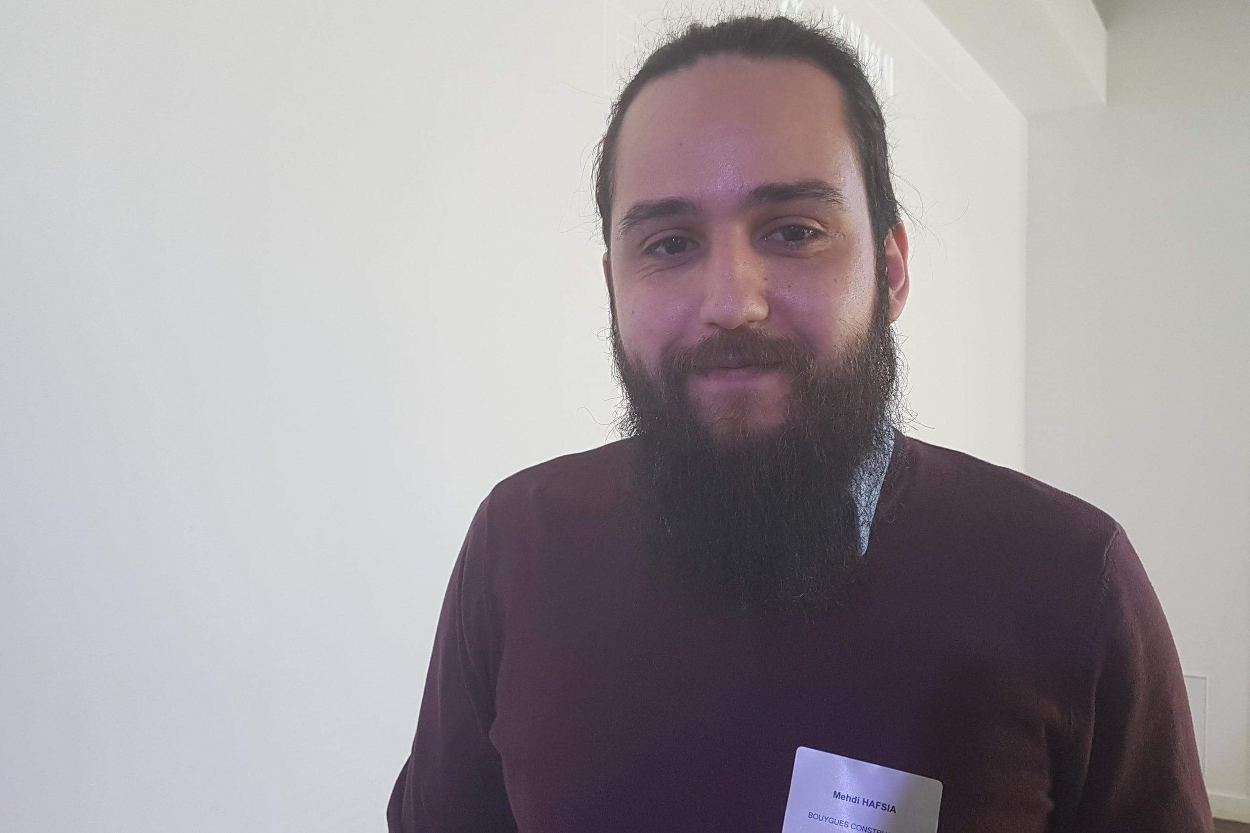Mehdi Hafsia est responsable VR à Bouygues Construction. ©CGM