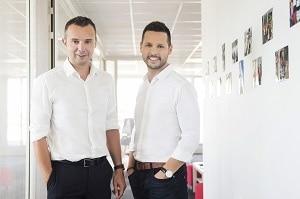 Frédéric Salles et John-Aldon, les deux cofondateurs de Matooma, ont réalisé 8 millions d'euros de chiffre d'affaires en 2017. ©DR