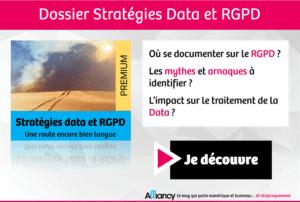 data et rgpd Dossier alliancy