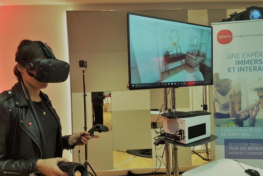 Pour Nexity, la VR ouvre la voie à de nouveaux services à proposer aux acquéreurs. ©CGM