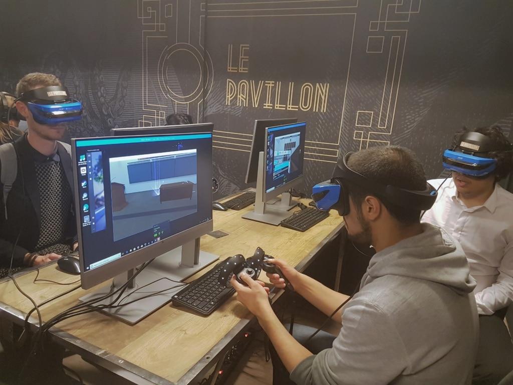 Numa proposera des expérimentations, des formations et des animations dans son nouvel espace VR. ©CGM
