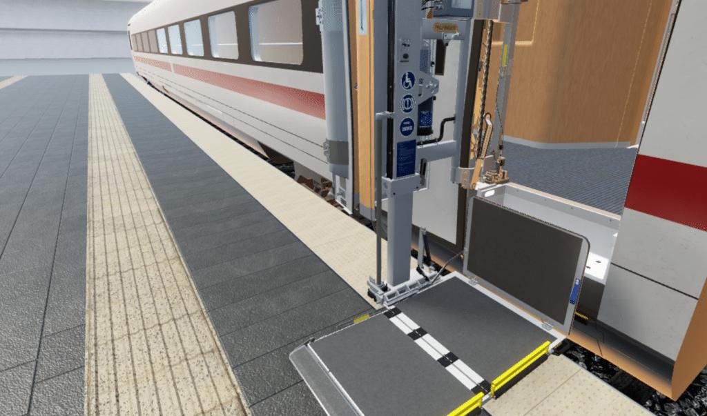 La Deutsche Bahn confronte ses conducteurs à des cas de figure exceptionnels. © 2017 Deutsche Bahn AG