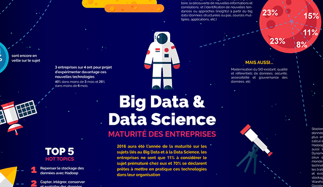 infographie big data et data science