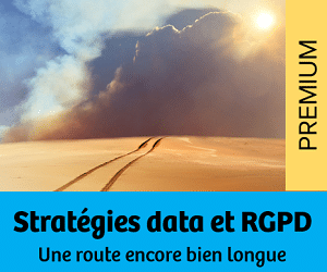 Nouvelles stratégies data et RGPD