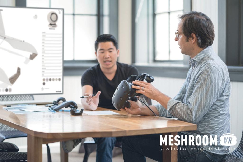 Meshroom VR été nominée par la première édition parisienne de Global Industrie.
