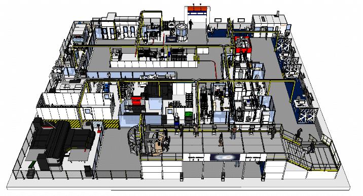 Ce démonstrateur grandeur nature de technologies, solutions et savoir-faire industriels, lui permettra en effet de suivre, sur 1 000 m² situés sur le salon INDUSTRIe, toutes les phases de la production d'un produit, de sa conception à la livraison finale à un client bien spécial puisqu'il s'agit de… lui-même !