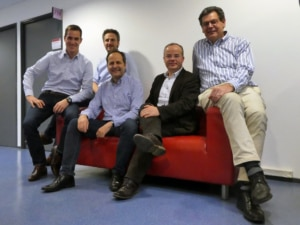 Les équipes de Cartesiam et d'Eolane ont mis trois ans pour élaborer l'assistant de maintenance prédictive intelligent. ©DR