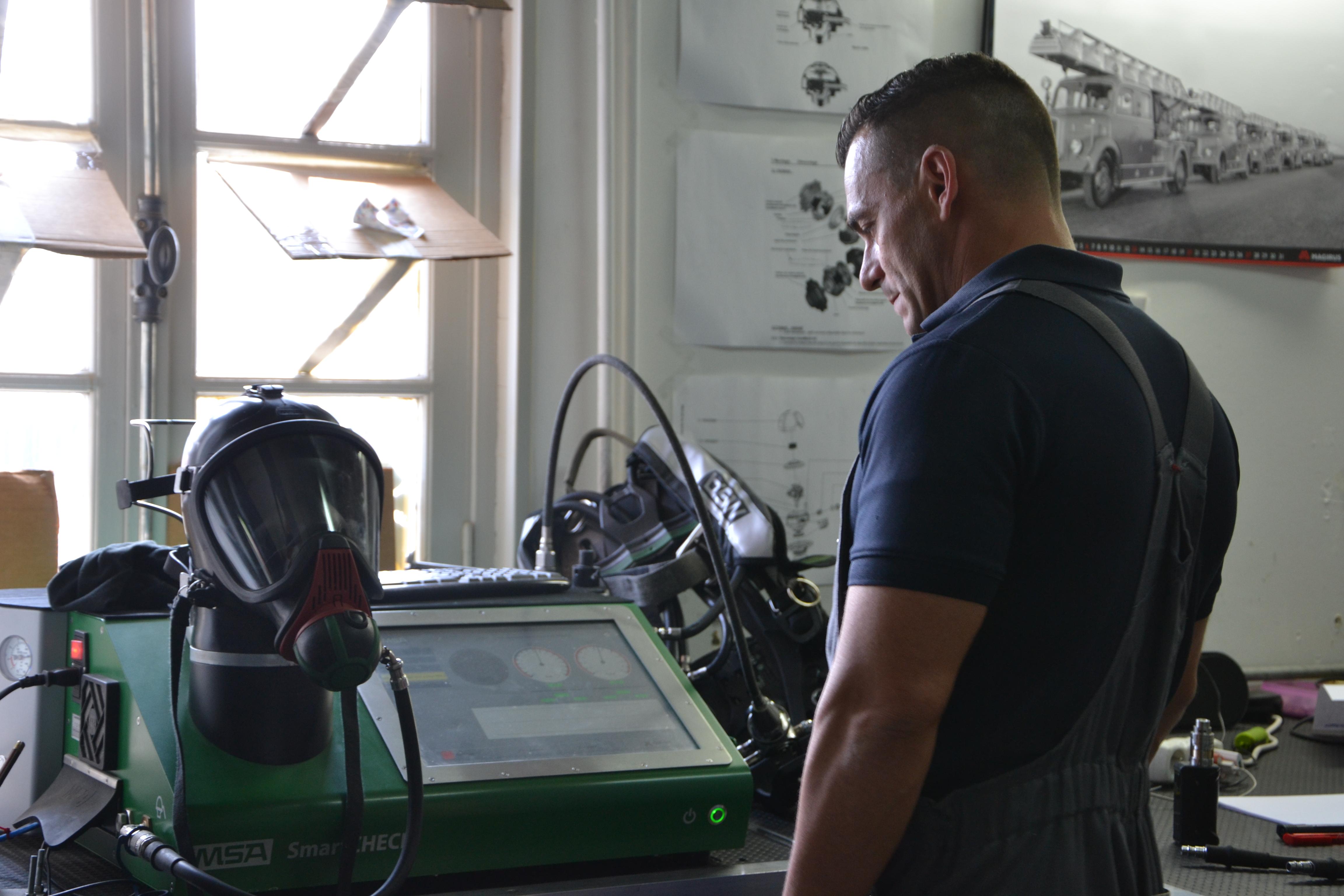 Au centre technique de Voluceau, une vingtaine de métiers sont représentés.