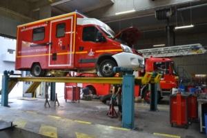 La durée de vie d'une ambulance est généralement de 8 ans.