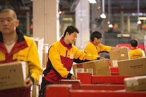 Pour DHL, il est essentiel de prévoir les pics de demande. ©DHL