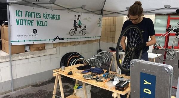 RATP / Ridy : le vélo « facile »
