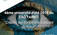 Université d'été du Tao Tank : créons les fonctions support du Futur !