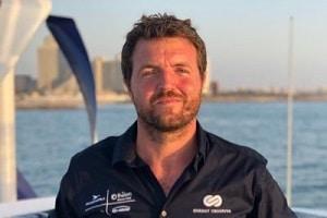 Victorien Erussard, fondateur et capitaine d'Energy Observer