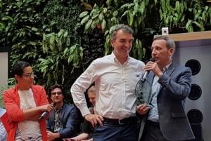Jooxter et le Crédit Agricole Aquitaine ont remporté le Village Award de la coopération la plus efficace.