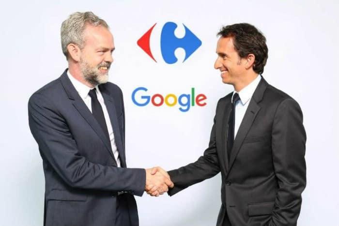 Carrefour-Google : pour mieux parler aux clients