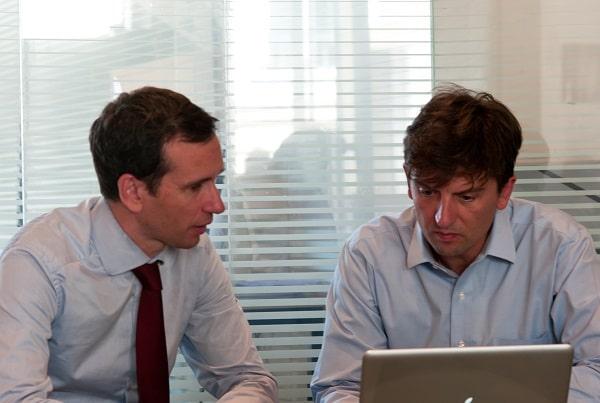 Antoine Duboscq (à gauche) et Lionel Roux ont lancé fin 2017 une sixième version de Wimi. ©Wimi