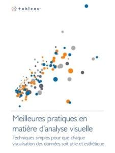 Guide des meilleures pratiques de l'analytique visuelle