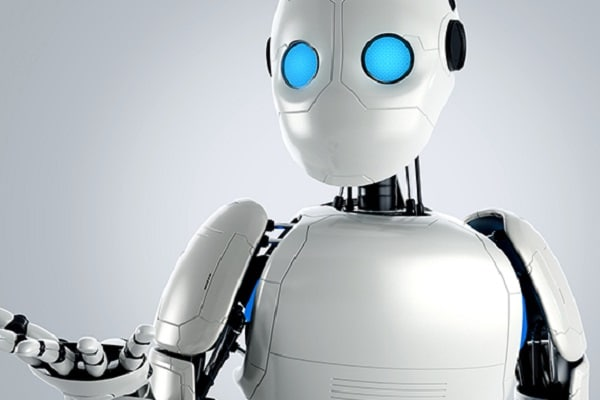 Un robot dans la ville !