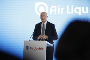 Inauguration d'air liquide