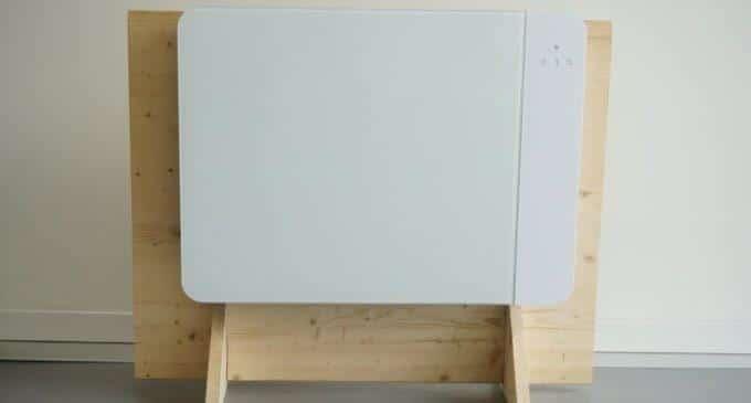 Smart Home : Lancey, le radiateur qui stocke l'électricité