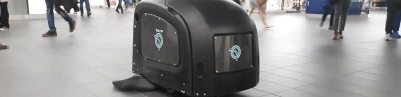 Le robot de Fybots