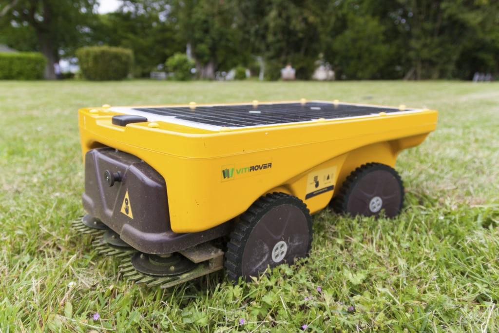 Prix du Public : Vitirover, la solution de désherbage robotisée