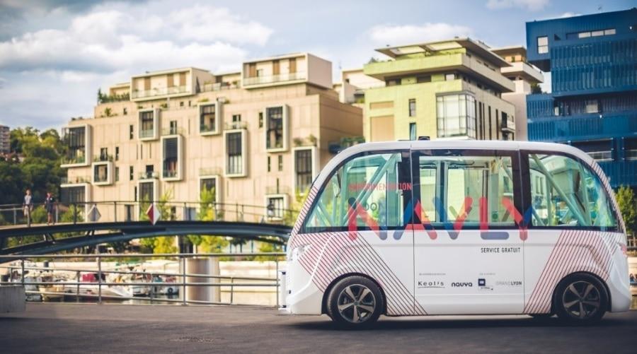 Lyon se veut leader européen des navettes sans chauffeur