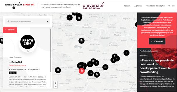 L'écosystème Paris-Saclay recense plus de 400 start-up