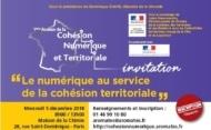 1ères Assises de la cohésion numérique  «Le numérique au service de la cohésion territoriale»