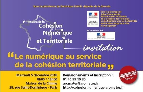 1ères Assises de la Cohésion Numérique et Territoriale