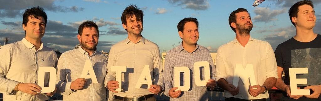 L'équipe de DataDome, société éditrice d'une solution de bot management basée sur l'intelligence artificielle