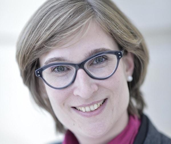 Cecile Wendling, responsable de la prospective du groupe d'assurances AXA,