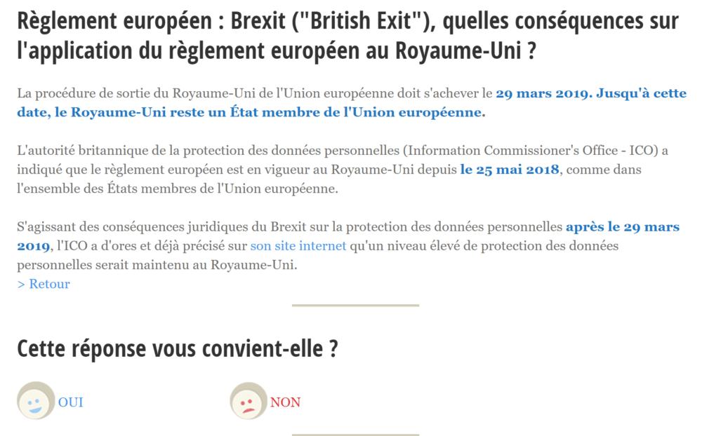 Brexit dur & RGPD : quand l'EU propose 4 solutions alors que vous n'en avez qu'une !