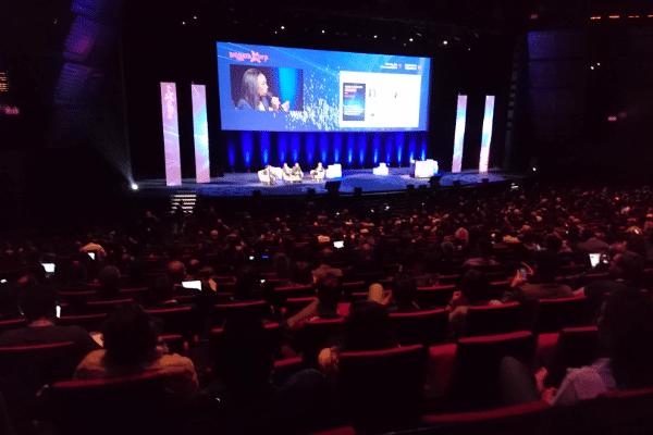 """Salon Big Data Paris 2019 - Table ronde intitulée """"Maturité du Big Data : comment cela se concrétise aujourd'hui au sein des entreprises ?""""."""