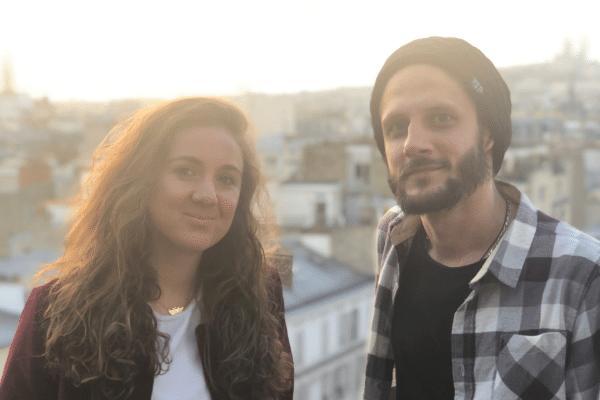Hugo Lepetit et Marjolaine Grondin, fondateurs de Jam