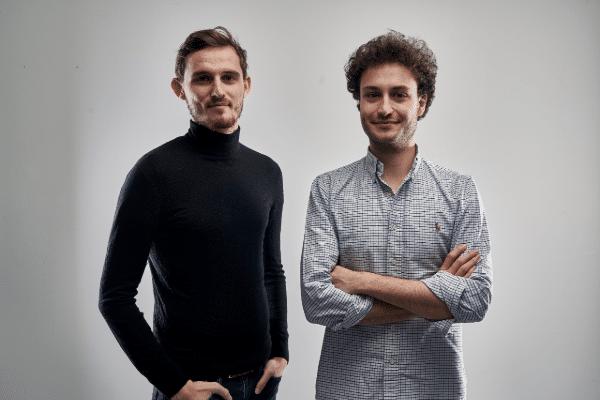 Les deux co-fondateurs de Where You Love (à gauche Benoit Palabre et Alexandre Bonhomme à droite)