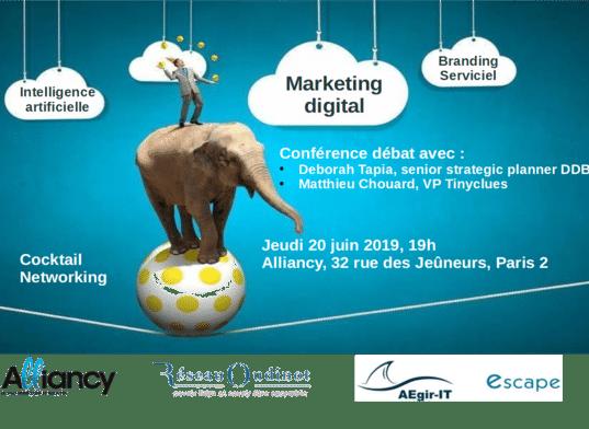 Publicité, communication et marketing: les impacts du digital, les forces de l'intelligence artificielle.