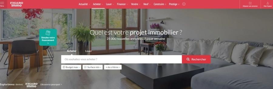 Le Figaro Immo veut suivre les innovations de son marché