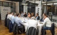 Un dîner organisé en partenariat avec Canon Business Services